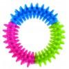 Kruh s výstupkami z tvrdej gumy DENTAL GUM 10cm