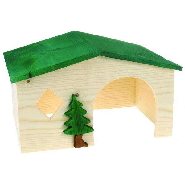 Domček pre hlodavce 26x19x15cm