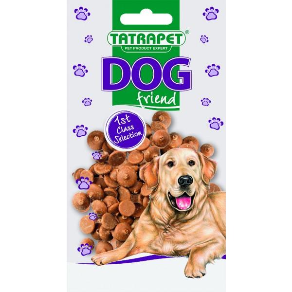 Dropsy čokoládové DOG friend 75g
