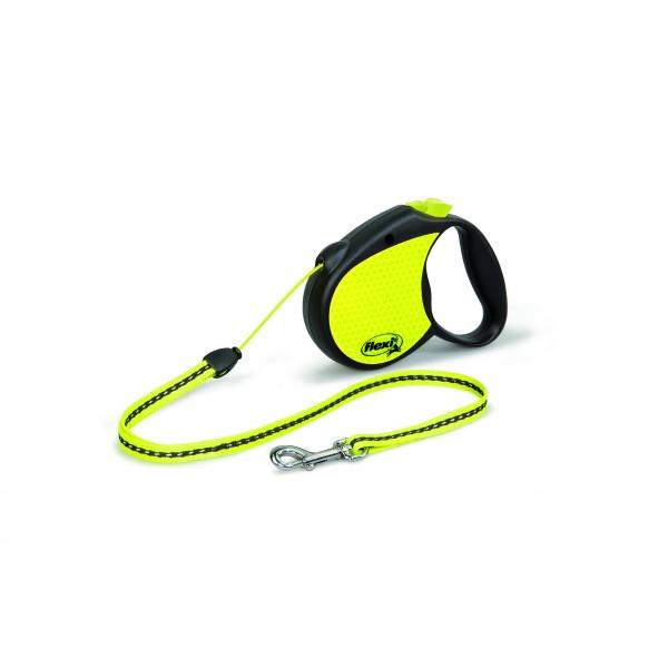 Flexi Neon Reflect cord 5m/do 12kg