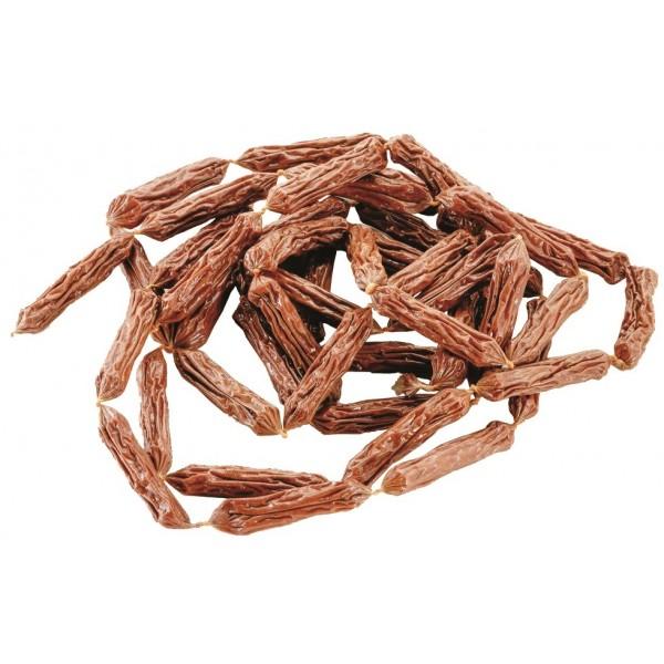 Klobásky bravčové so šunkou sušené 7-8cm/ 1ks