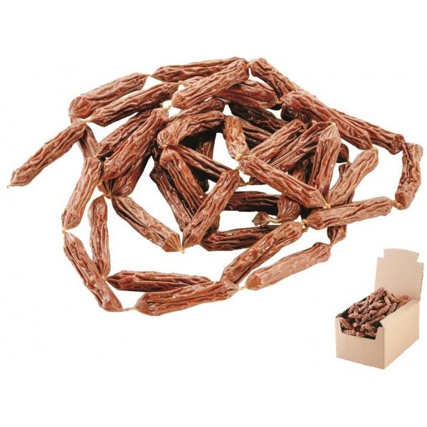Klobásky bravčové sušené 7-8cm/ 200ks v balení