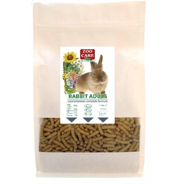 Krmivo králik adult complete formula, 1kg,  ZOO CARE
