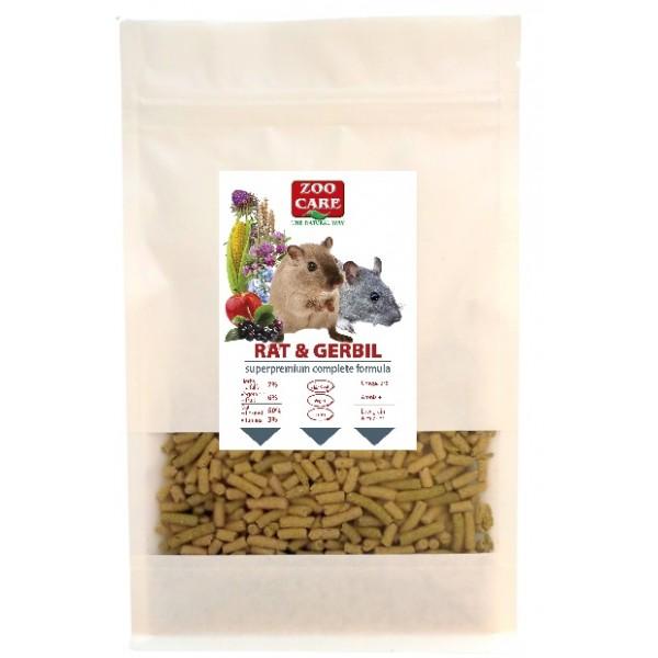 Krmivo potkan/pieskomil - copmlete formula, 300g  ZOO CARE