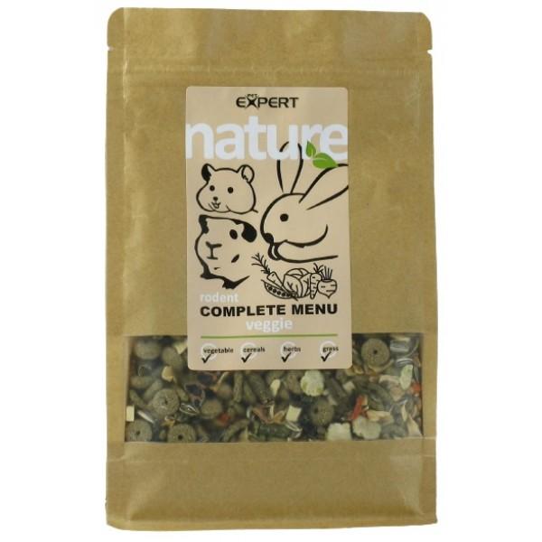 Krmivo pre hlodavce - complete menu - veggie mix, NATURE 500g, PETEXPERT