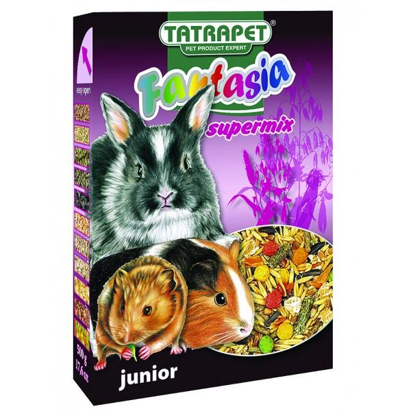 Krmivo pre hlodavce junior 500g Fantasia