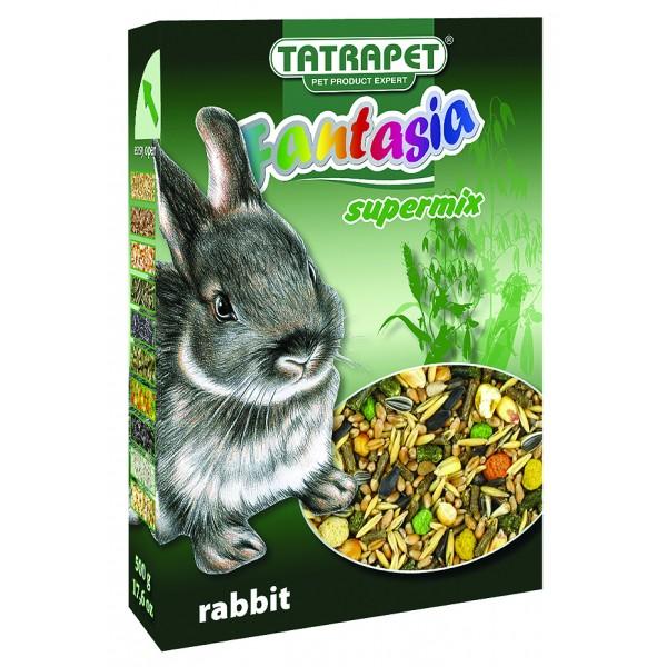 Krmivo pre králika 500g Fantasia