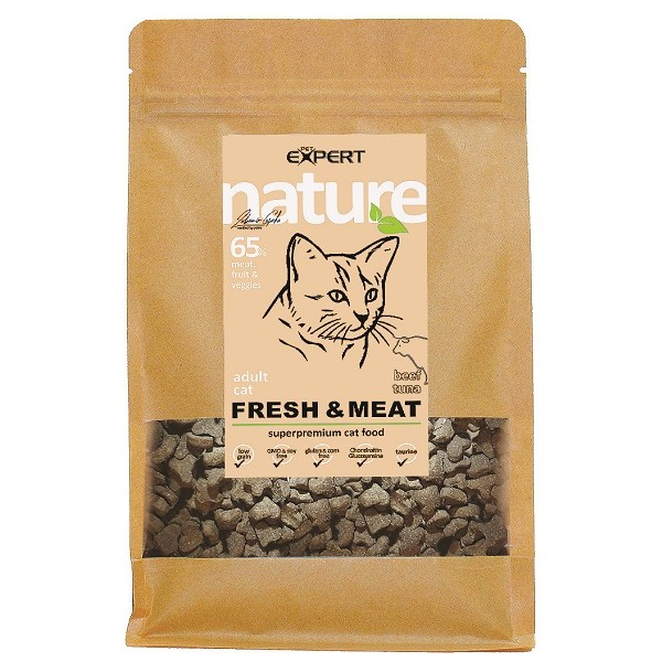 Krmivo pre mačky,Hovädzie Adult All breed1,5kg,nature PET EXPERT