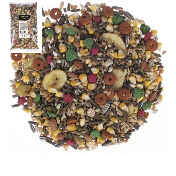 Krmivo pre malé hlodavce Tropical Garden 500g, PET EXPERT
