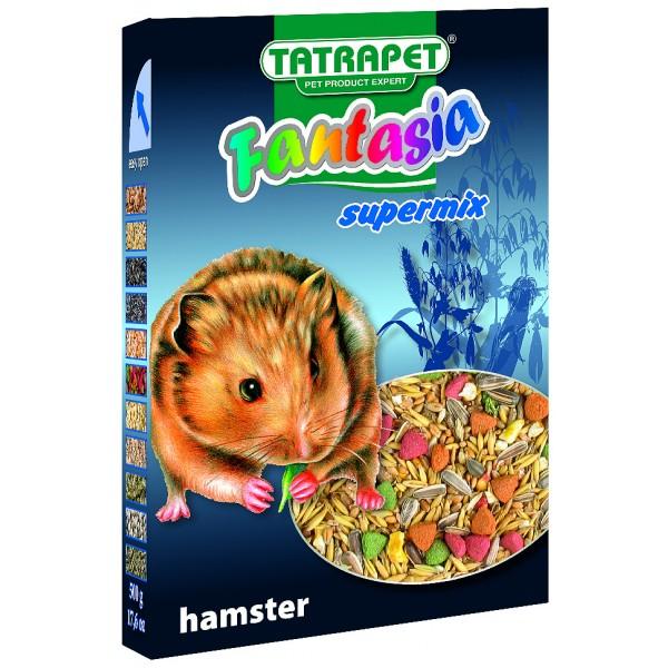 Krmivo pre škrečky 500g Fantasia