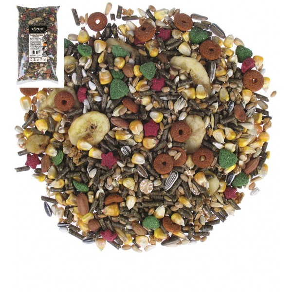 Krmivo pre veľké hlodavce Tropical Garden 1kg, PET EXPERT