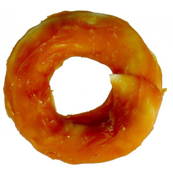 Kruh žuvací potiahnutý kuracím mäsom 110g/ 10cm