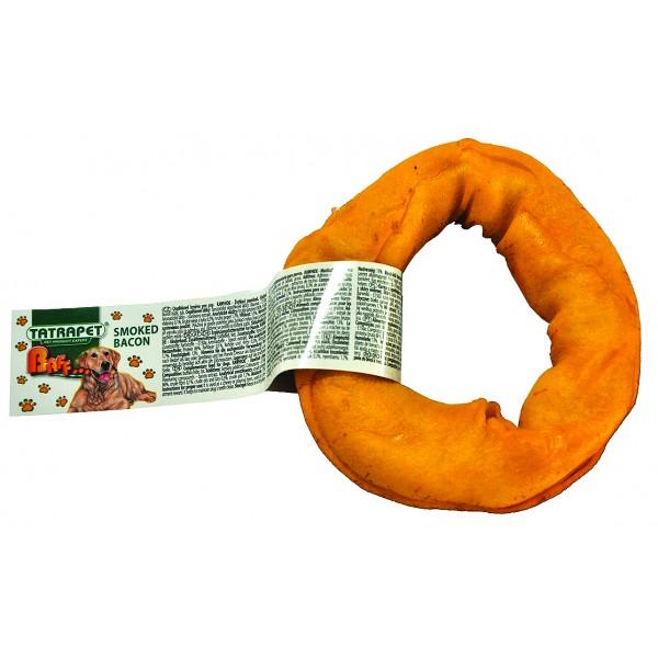 Kruh žuvací údený slaninový 7,5-12,5cm/45g  BAFF