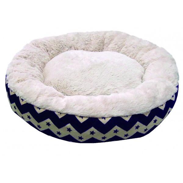 Ležadlo textilné okrúhle 50x12cm