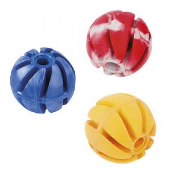 Lopta-špirála z tvrdej gumy DENTAL GUM 6cm