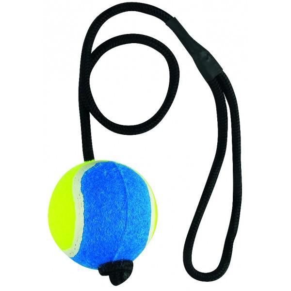 Lopta tenisová s gumou TOYS&FUN 6x48cm