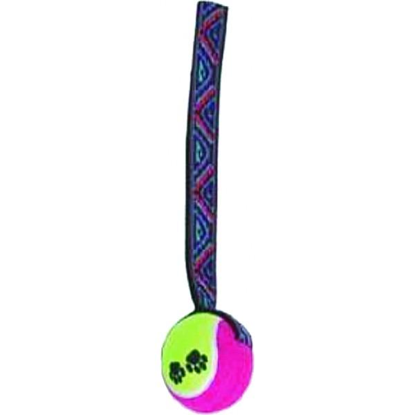 Lopta tenisová s popruhom TOYS&FUN 6/24cm