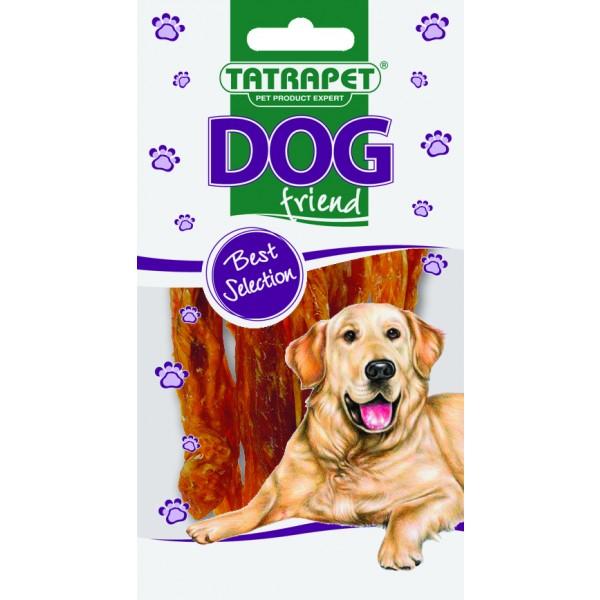 Mäso - kuracie pásky DOG friend 50g