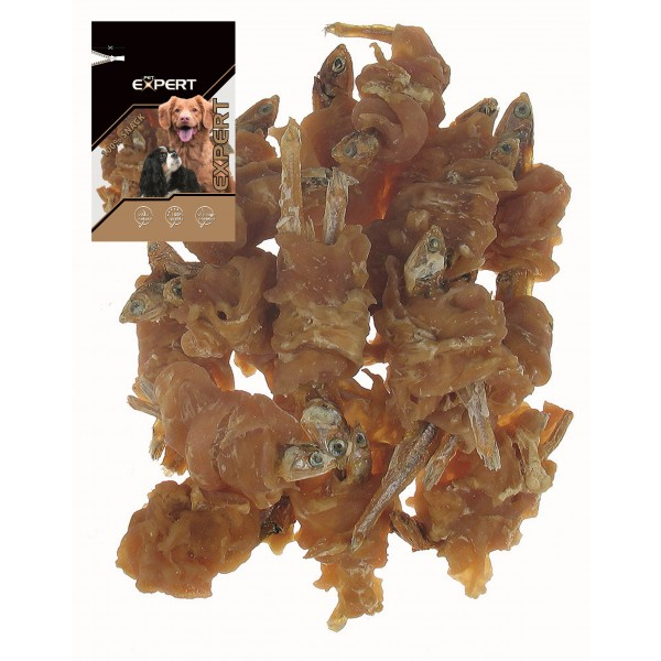 Sušené rybky s kuracím mäsom PET EXPERT 80g