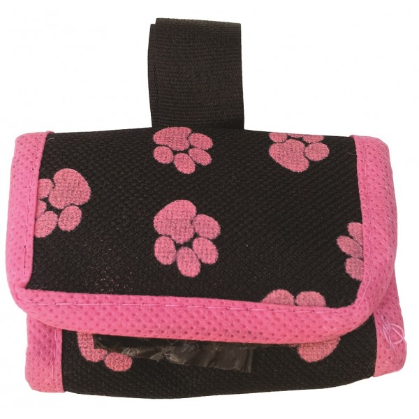 Textilné puzdro na sáčky na exkrementy 7x5x4,5cm