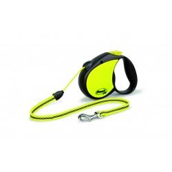 Flexi Neon Reflect cord 5m/do 20kg