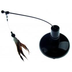 Interaktívna hračka pre mačku lietajúca myš 18x15cm
