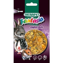 Krmivo  hlodavec s bylinkami,Herbal mix 15g Fantasia