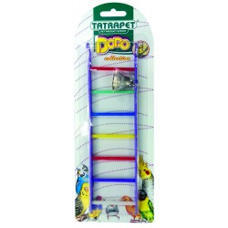 Rebrík so zvončekom pre vtáky 22cm DODO collection