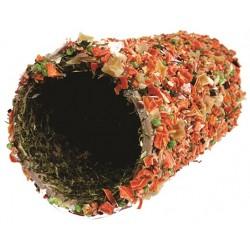 Tunel s extra dávkou zeleniny pre hlodavce O6cm, 20cm ZOO CARE